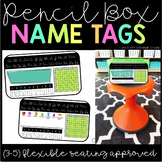 Pencil Box Name Tags INTERMEDIATE