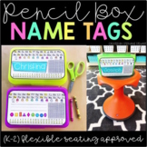 Pencil Box Name Tags