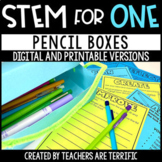 Pencil Boxes STEM for One - Distance Learning