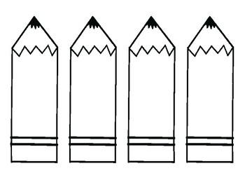 graphic relating to Printable Door Decs Templates referred to as Pencil Bulletin Board Preset / Clroom Welcome Doorway Decoration - Printables