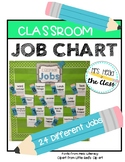 Pencil Classroom Job Chart