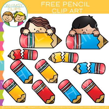 Free Pencil Clip Art