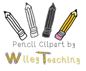Pencil Clipart FREEBIE