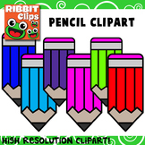 Pencil Clipart Freebie