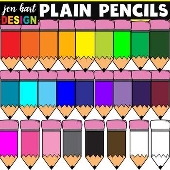 Pencil Clipart (Plain)