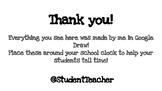 Pencil Clock