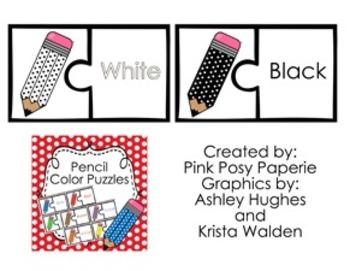 Pencil Color Puzzles