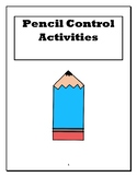 Pencil Control Packet