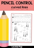 Pencil Control Worksheets: Curved Lines