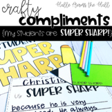 Pencil Craft {Crafty Compliments August} Back to School Craft