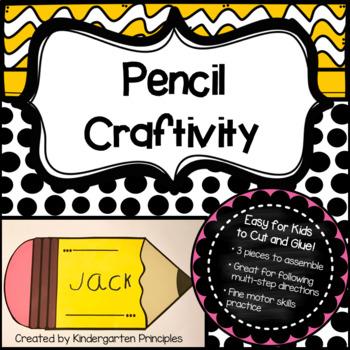 Pencil Craftivity