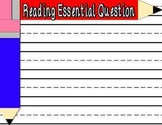 Pencil Essential Question Posters