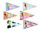 Pencil Flags Student Reward and Birthday Freebie