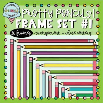 Pencil Frames and Borders Clipart 1  {pencil borders clipart}