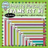 Pencil Frames and Borders Clipart 1  {pencil borders clipart}