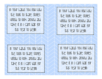 Pencil Gift Tags