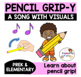 Pencil Grip-y A song and visuals for learning about correct pencil grip! prek12