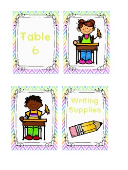 Pencil Holder Labels *Freebie*