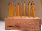 Pencil Holder for Classroom Managment