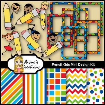 Pencil Kids Mini Design Kit