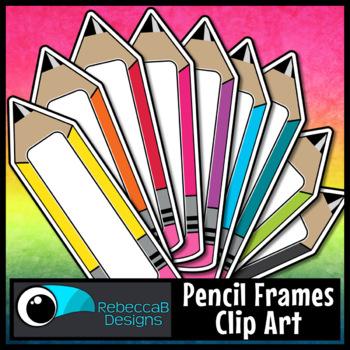 FREE Pencil Clip Art Labels