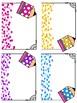 Pencil Labels-3 Sizes & Multiple Colors