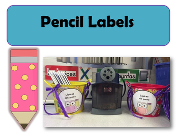 Pencil Labels en español