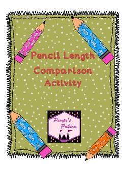 Pencil Length Measurement Comparison Activity