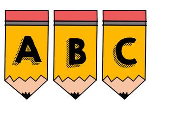 Pencil Letters