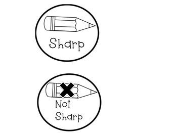 Pencil Management Labels
