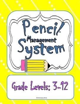 Pencil Management System