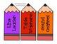 Pencil Me In Job Chart {FREEBIE}