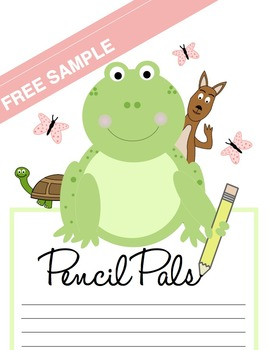 Pencil Pals: Basic Writing Mechanics (Free Sample)