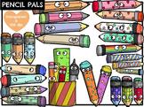 Pencil Pals (Digital Clip Art)
