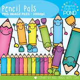 Pencil Pals - Clipart for Personal and Commercial
