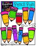 Pencil Pals {Creative Clips Digital Clipart}