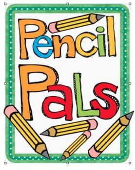 Pencil Pals - These friends can help you sharpen pencils!
