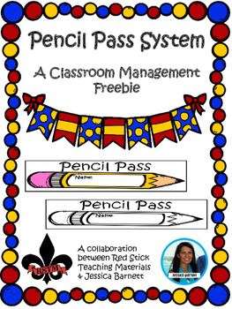 Pencil Pass System Freebie
