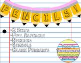 Pencil Pennants
