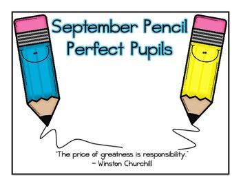 Pencil Perfect Pupils