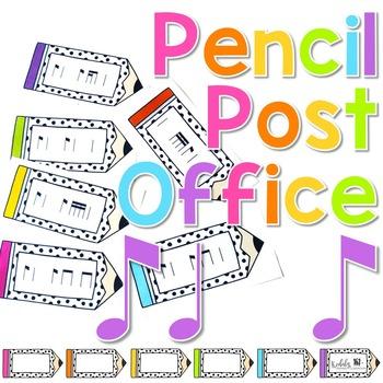 Pencil Post Office Rhythm Games: syncopa