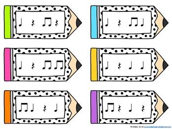 Pencil Post Office Rhythm Games: ta rest