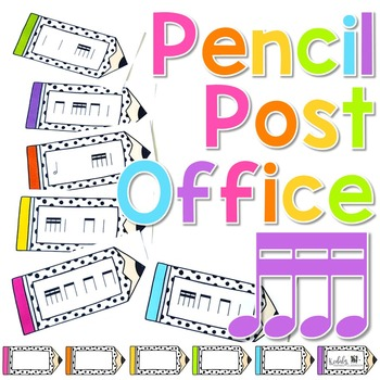 Pencil Post Office Rhythm Games: tika-tika