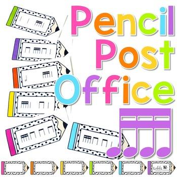 Pencil Post Office Rhythm Games: tika-tika