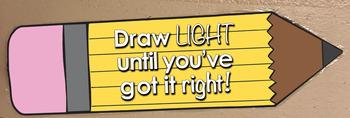 Pencil Poster