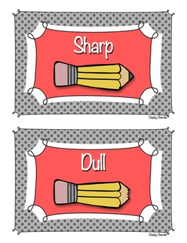 Pencil Posters - Sharp & Dull