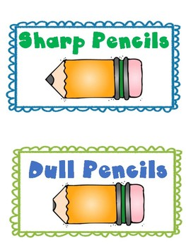 Pencil Posters - Sharp and Dull
