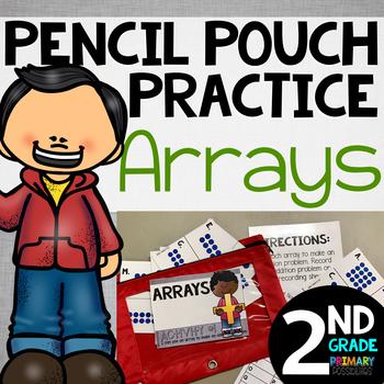Pencil Pouch Practice {Arrays}