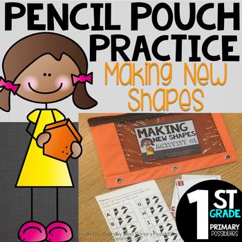 Pencil Pouch Practice { Composing Shapes }