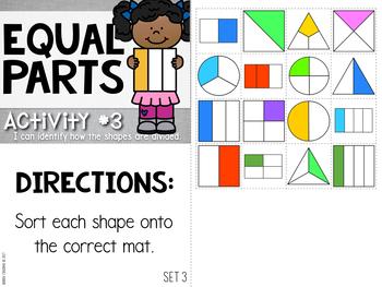 Pencil Pouch Practice {Equal Parts}